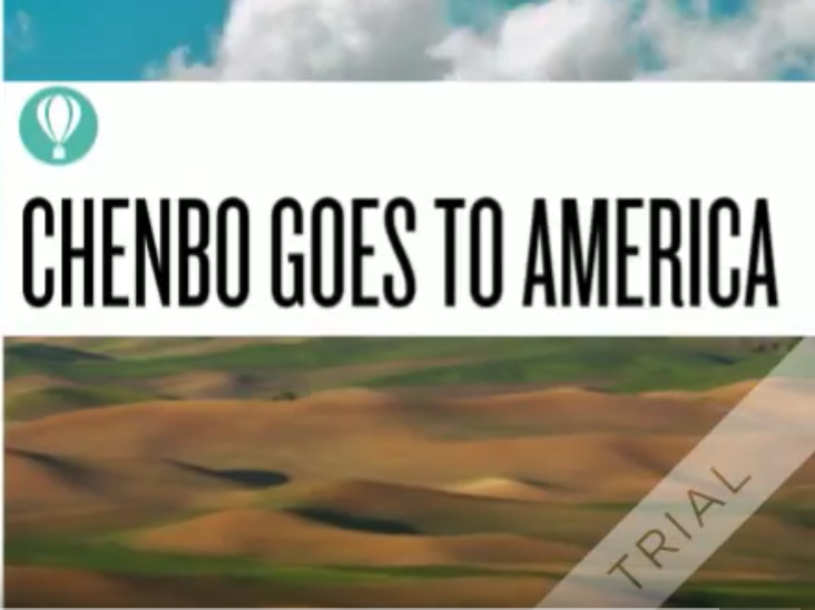 Chenbo Goes to America