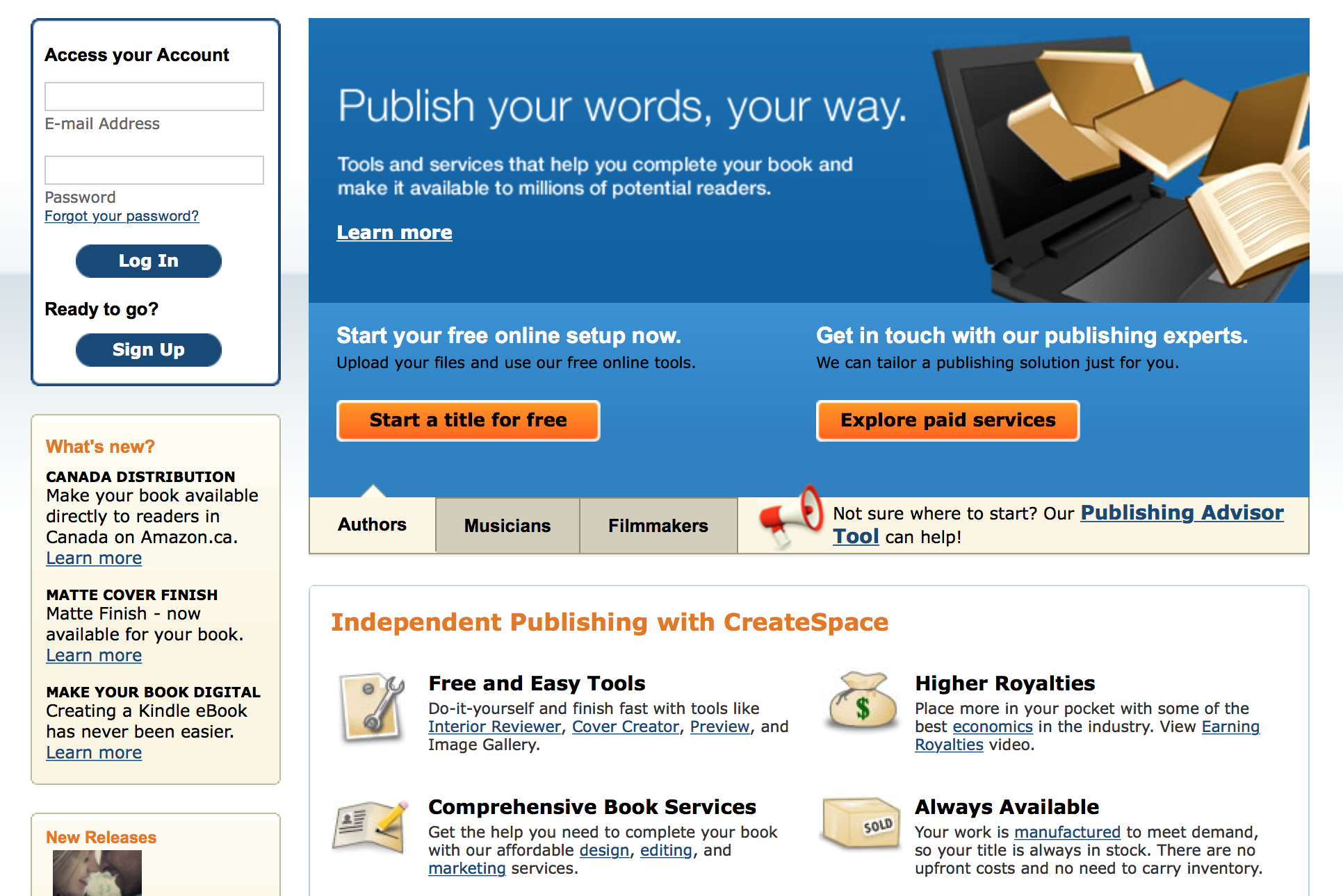 The business of book publishing cost of printing your book the dana sitar recommends using amazons createspace where you can list your book for sale solutioingenieria Images