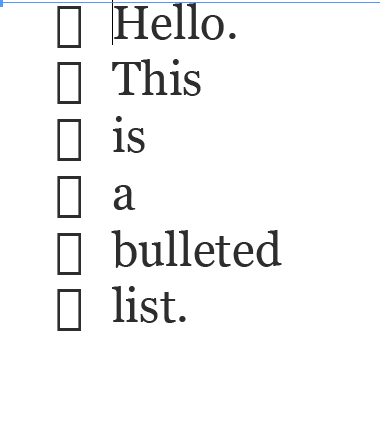 indesign secrets ensuring bulleted lists actually have bullets