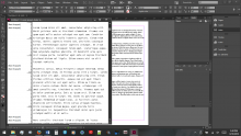 InDesign Story Editor