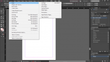 InDesign Layout Screenshot